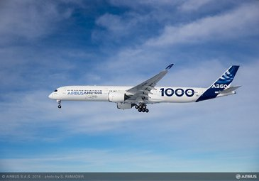 A350-1000 First Flight – air to air 005