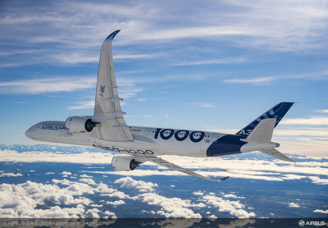 A350-1000 First Flight – air to air 036
