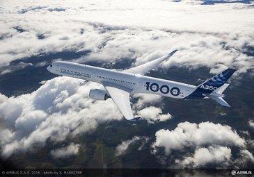 A350-1000 First Flight – air to air 040