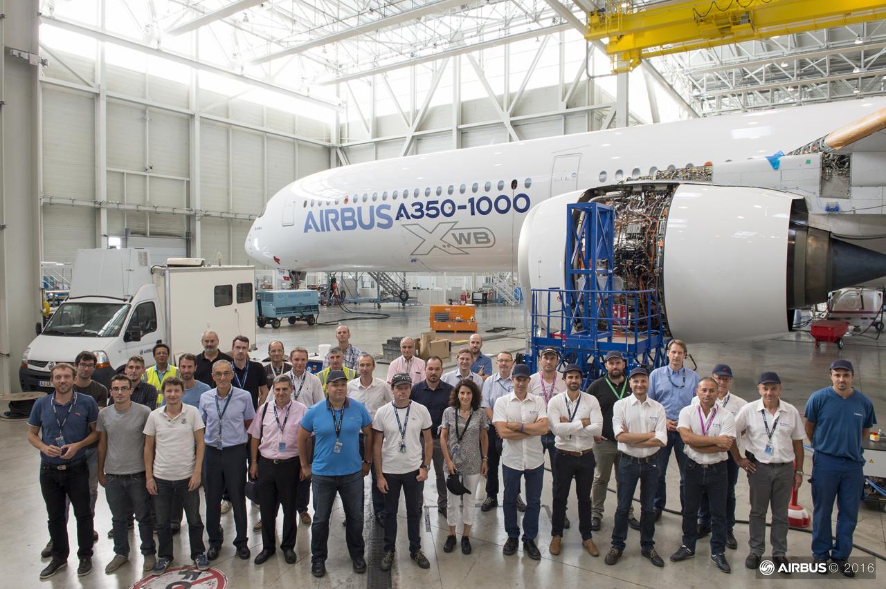 A350-1000 : DGT Dynamic Ground Test