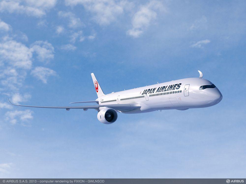 A350-1000 JAL RR