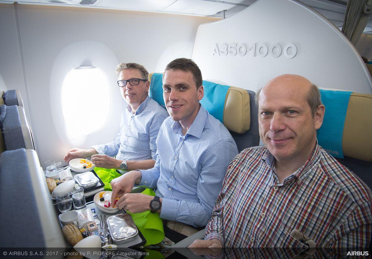 A350-1000_Early Long Flight – cabin 2