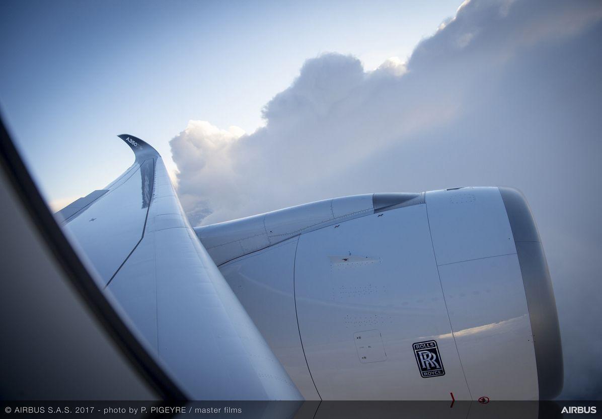 A350-1000_Early Long Flight – flight 1