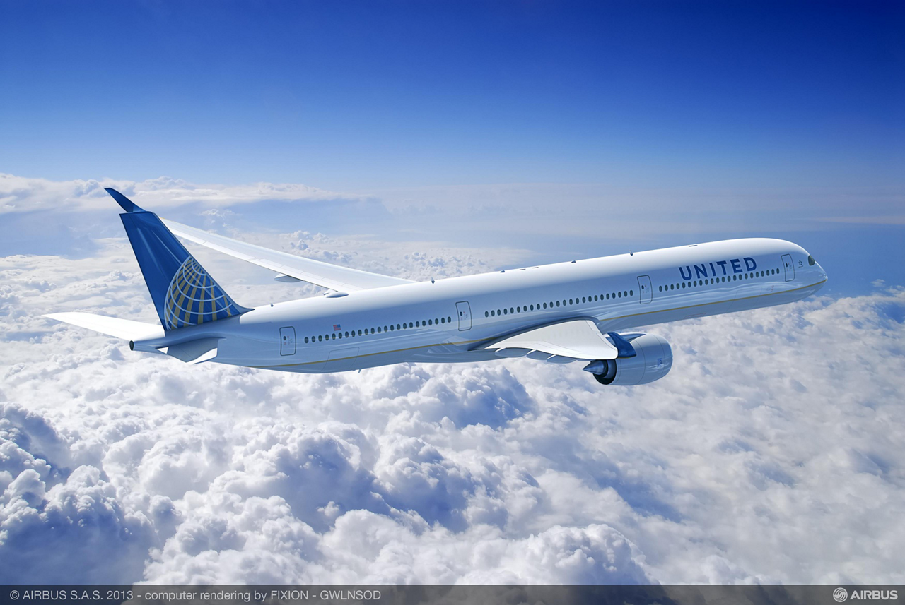 United Airlines and Airbus have announced that the airline will add 35 Airbus A350-1000 aircraft to its future fleet.  The agreement between the companies represents a conversion of the U.S. carrier's previous order for 25 A350-900s to the -1000 model, as well as the addition of 10 more orders for A350-1000 aircraft. The announcement was made today during the Paris Air Show.