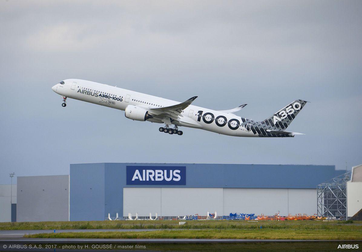 A350-1000_Early Long Flight – takeoff