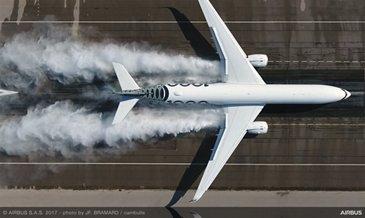 A350-1000_water trough test 1