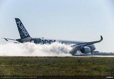 A350-1000_water trough test 2