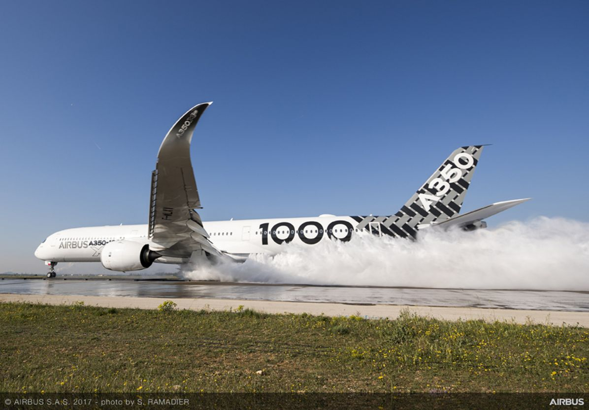 A350-1000_water trough test 3