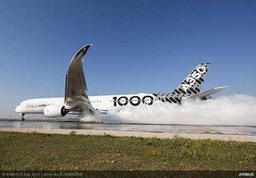 A350-1000_water trough test 3