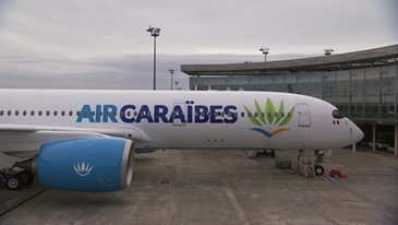 FIRST A350 DELIVERY TO AIR CARAIBES - CEREMONY