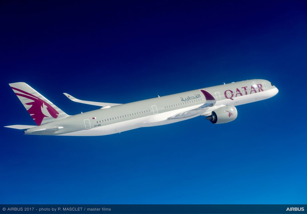 Qatar Airways, launch operator of the A350-1000 1