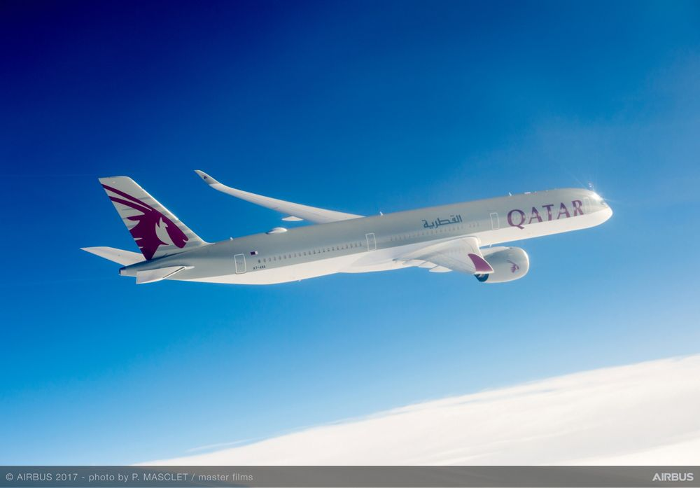 Qatar Airways, launch operator of the A350-1000 2