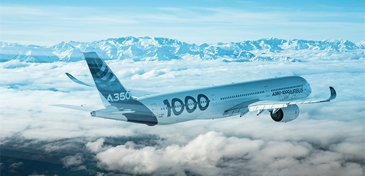 A350 1000 First Flight In Flight 1