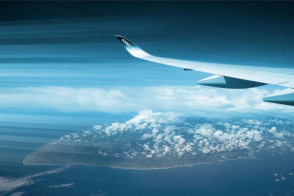 A350 1000 In Flight