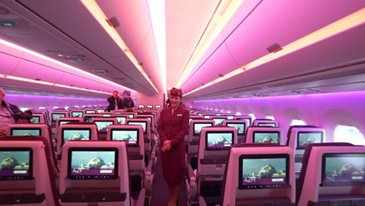 A350-1000 Qatar Airways Media visit