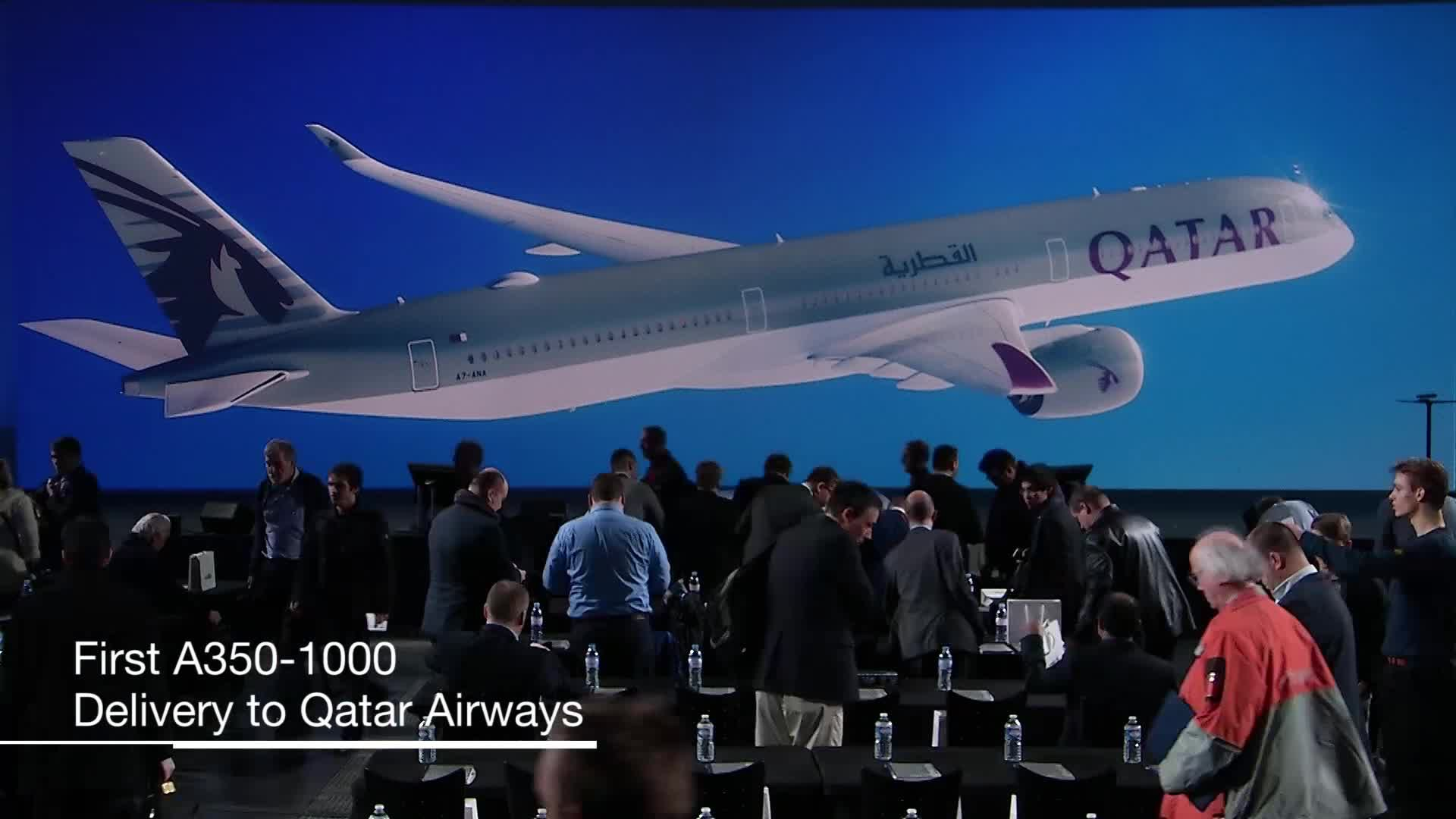 Highlights: First A350-1000 delivery to Qatar Airways