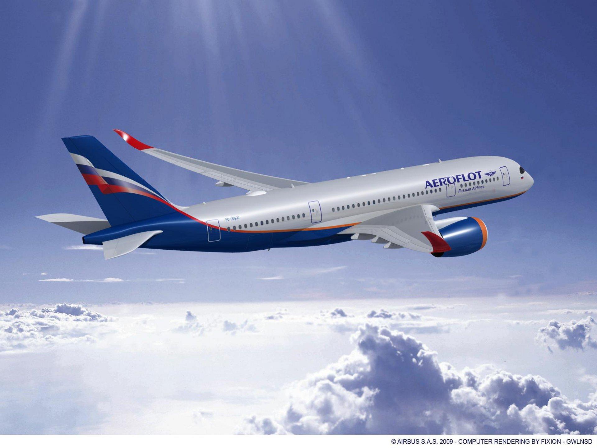 A350-800 AEROFLOT RR 2