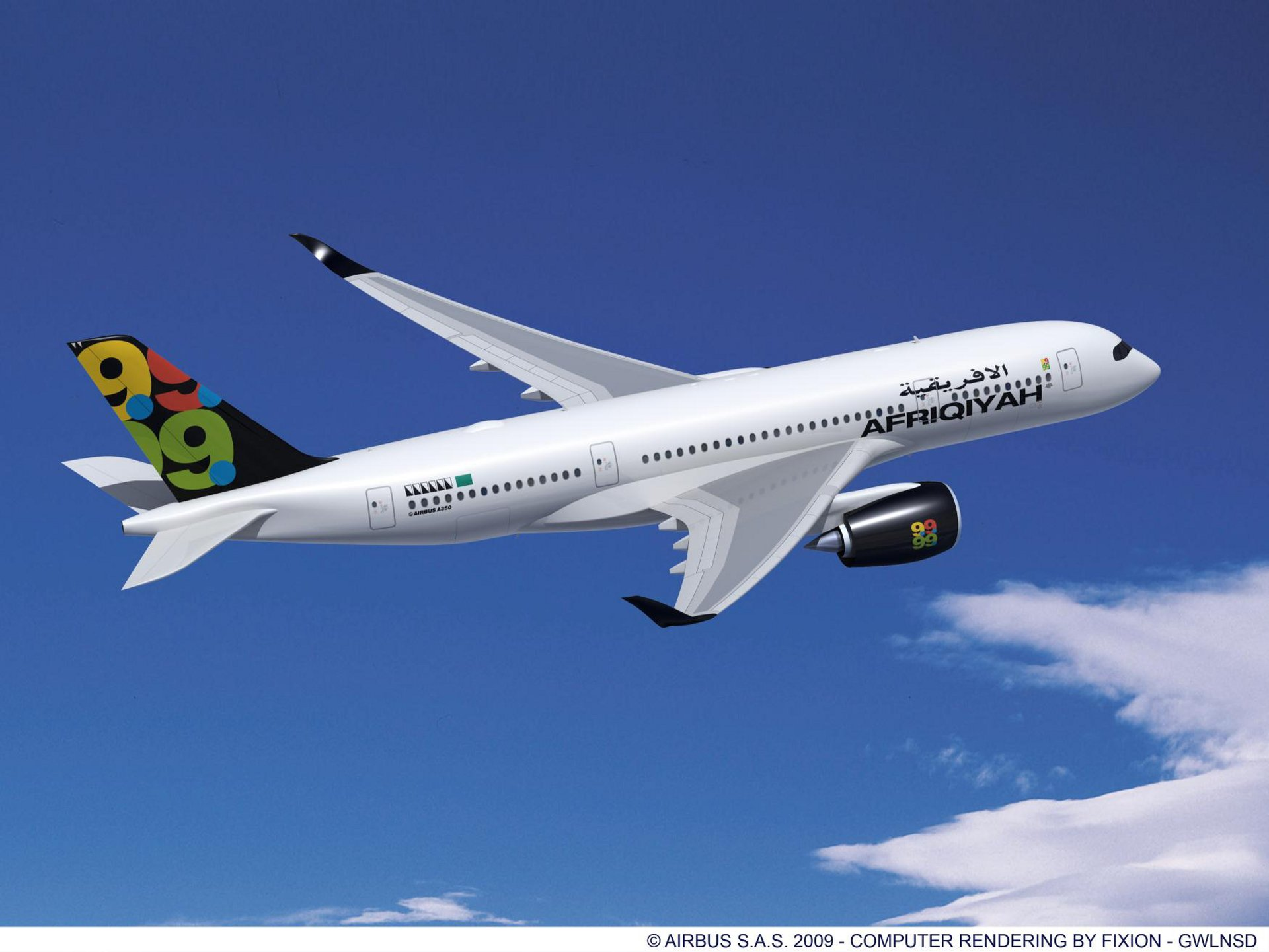 A350-800 AFRIQIYAH RR