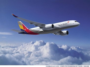 A350-800 ASIANA AIRLINES