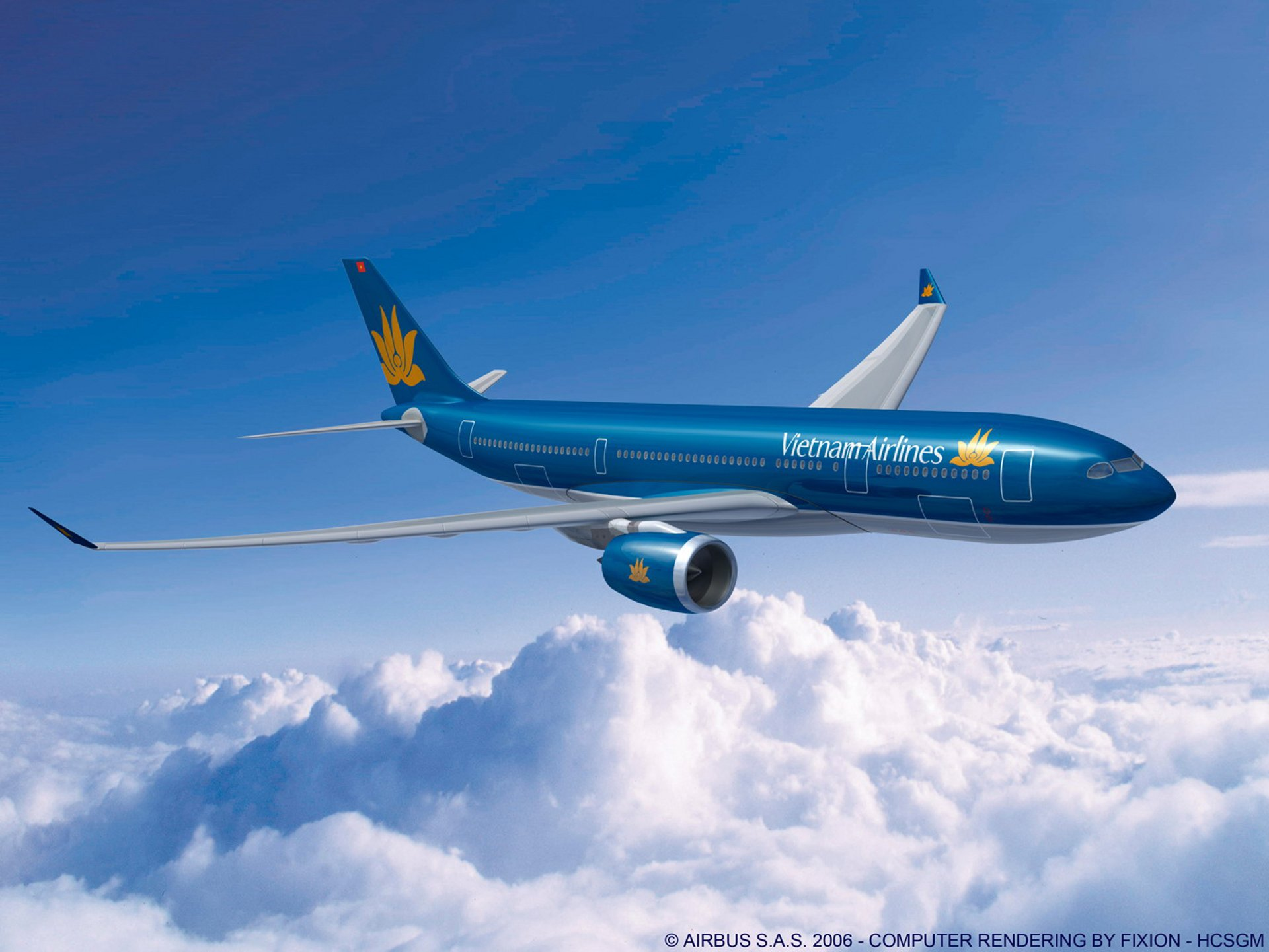 Vietnam Airlines has signed a Memorandum of Understanding (MOU) for 10 A350-900 XWBs (1 October 2007)