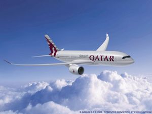 Qatar airways confirms order for a xwbs and adds three a s