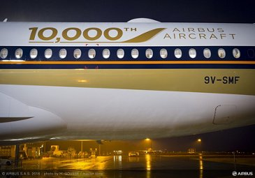 Airbus 10,000th delivery ceremony_4