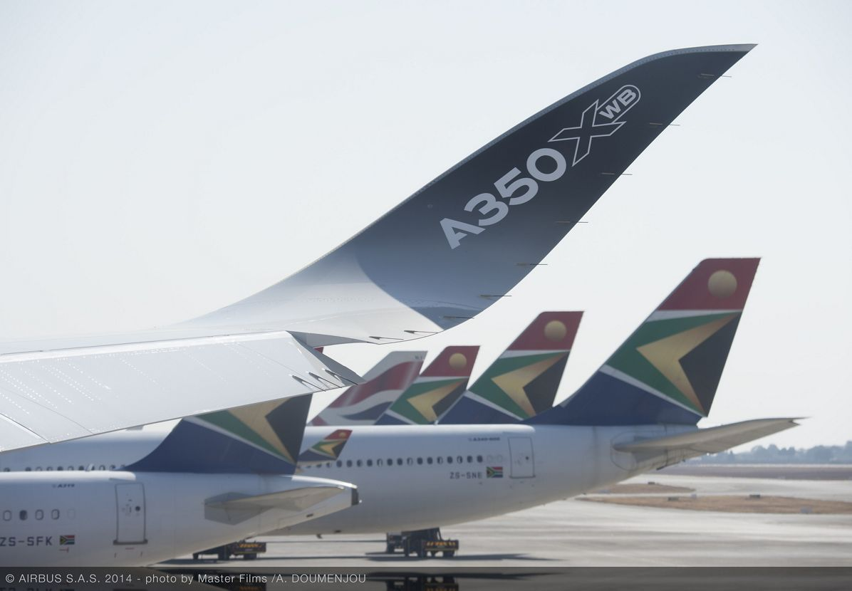 A350 XWB ROUTE PROVING TRIP 3 - JOHANNESBURG AIRPORT - FLIGHT LINE, A350 XWB route proving Johannesburg flight line