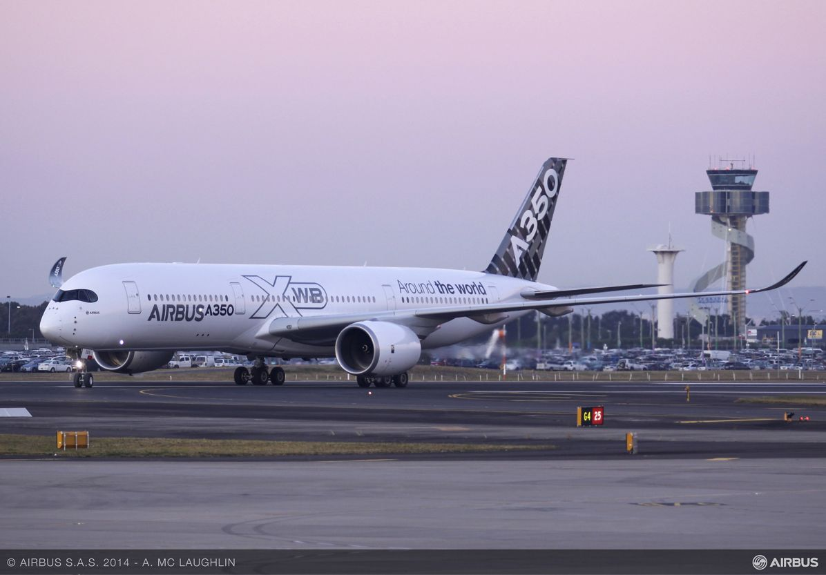 A350 XWB AT SYDNEY AIRPORT - ROUTE PROVING TRIP 3, A350 XWB route proving Sydney airport