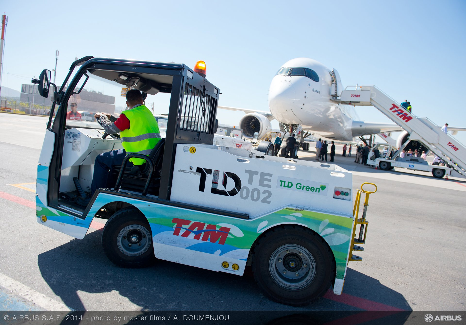 A350 XWB ROUTE PROVING TRIP 3 - SAO PAULO AIRPORT