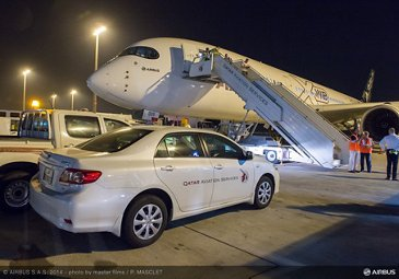 A350 XWB ROUTE PROVING TRIP 4 - DOHA AIRPORT