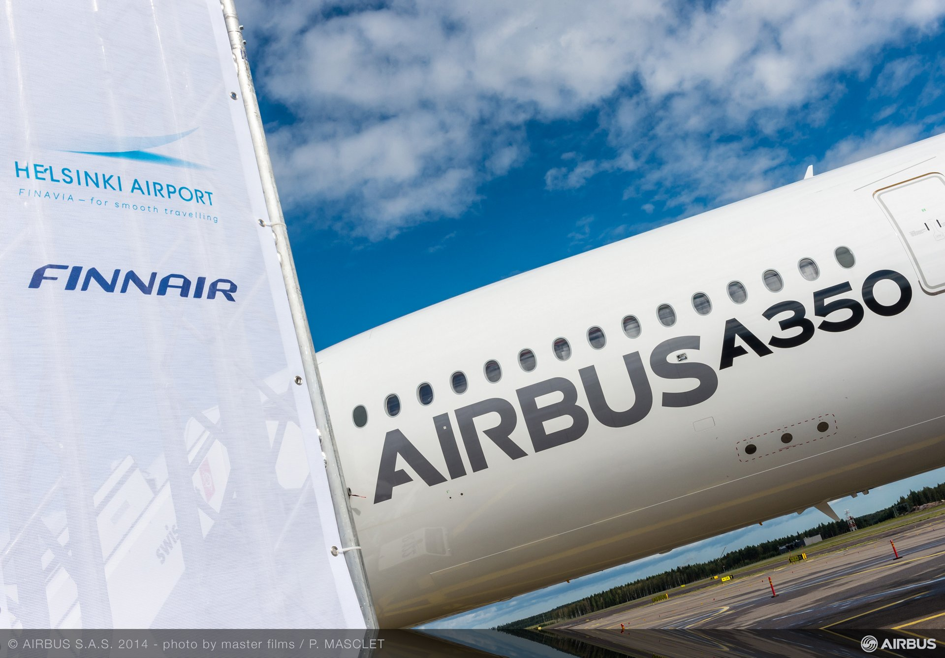 A350 XWB ON THE  GROUND - HELSINKI AIRPORT - TRIP 4, A350 XWB route proving Helsinki airport 3