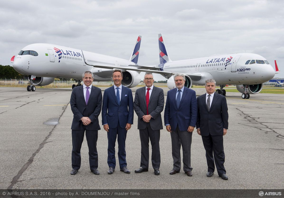 LATAM Airlines Group A320neo and A350 XWB
