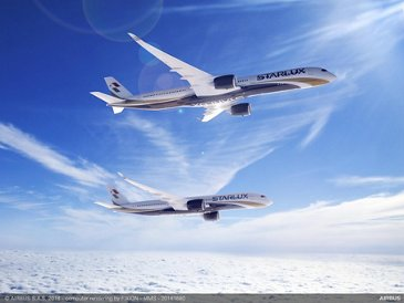 STARLUX Airlines A350-900 and A350-1000