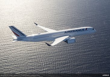 First delivery of Air France A350 XWB