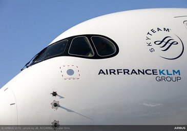 Airbus delivers first Air France A350 XWB