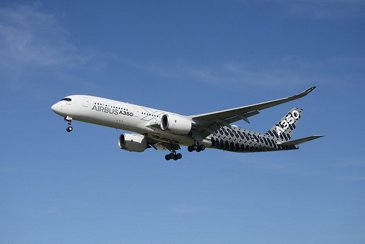 A350 900 Airbus Taking Off