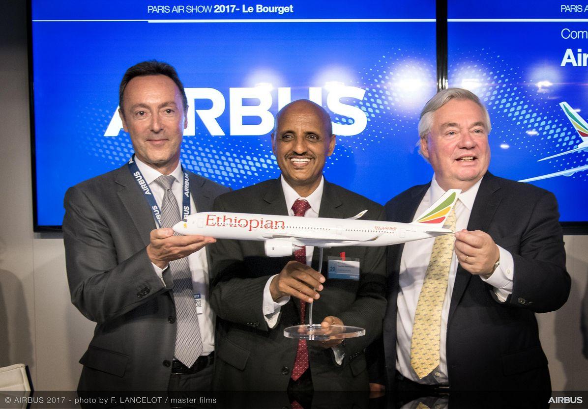 A350 900 Ethiopian Airlines Commercial Announcement Day2 PAS2017
