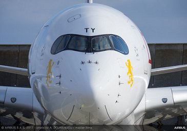 A350 900 Ethiopian Airlines Front View