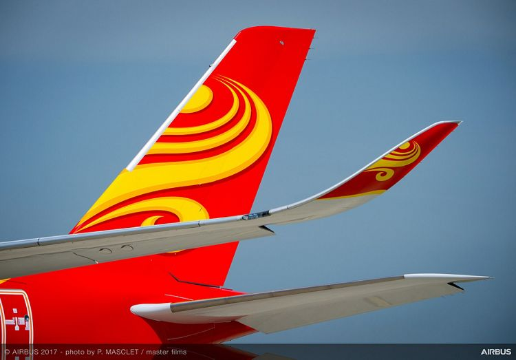 A350 900 Hong Kong Airlines Details VTP