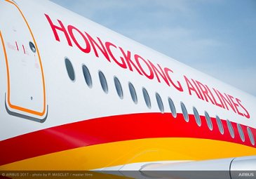 A350 900 Hong Kong Airlines Details Fuselage