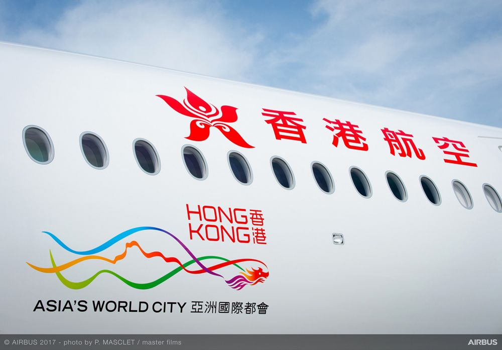 A350 900 Hong Kong Airlines Details Livery