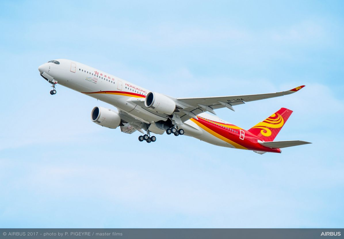 A350 900 Hong Kong Airlines