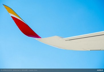 Iberia A350-900 first delivery 3