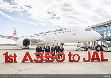 A350 900 Japan Airlines Delivery