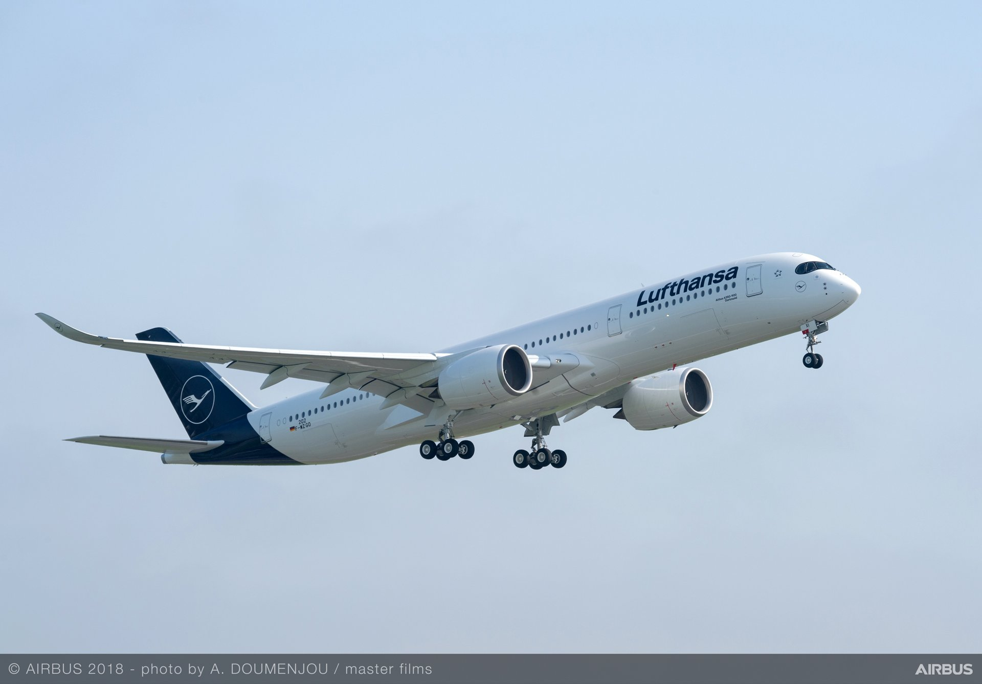 Lufthansa Group is the largest airline customer for Airbus aircraft, which includes 45 A350 XWB jetliners on order as of March 2019