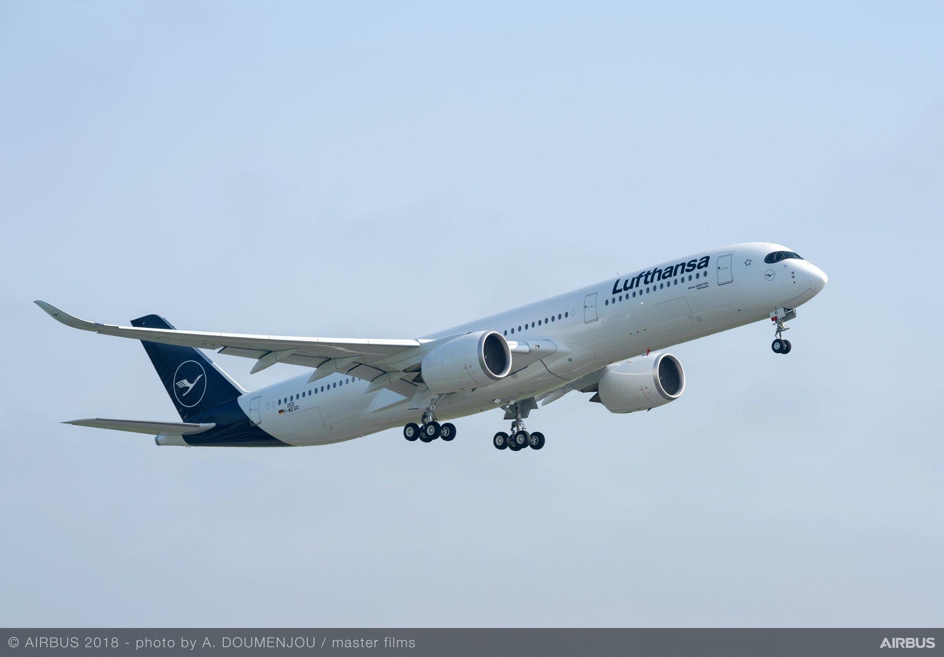 Lufthansa Group A350 XWB