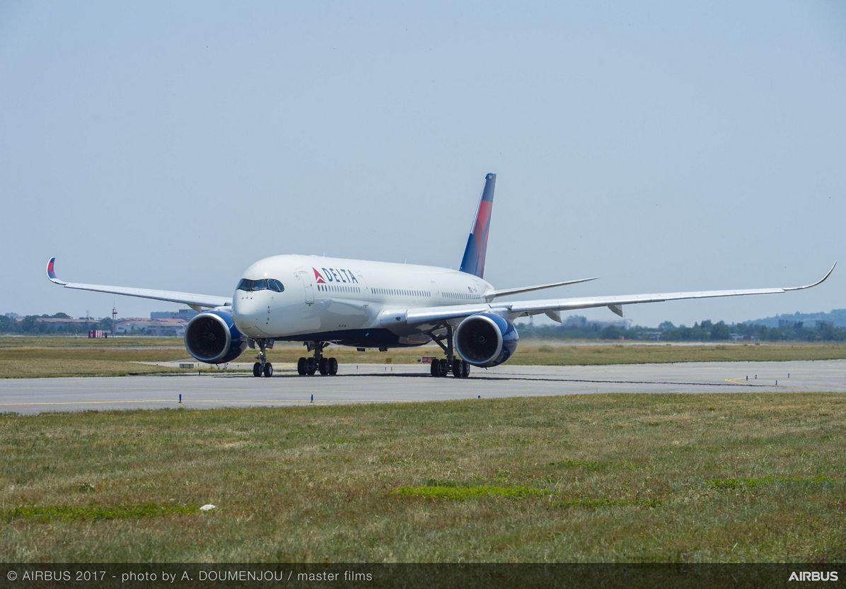 A350-900 MSN115 Delta Taxiing