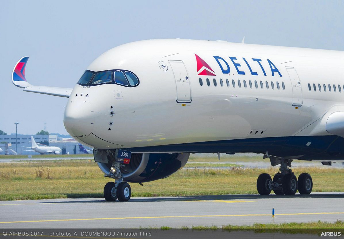 Airbus delivers first A350 XWB for Delta Air Lines