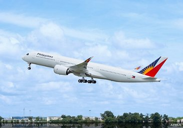 A350 900 Philippines Airlines Take Off