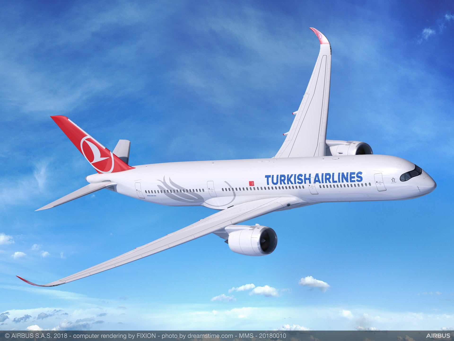 Turkish Airlines selects A350 XWB